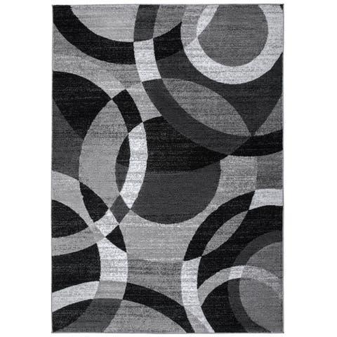 OSTI Abstract Circles Area Rug