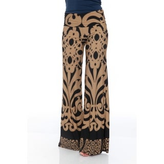 White Mark Women's Palazzo Pants