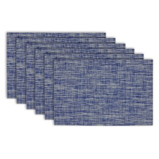 Nautical Blue Tweed Placemat (Set of 6)