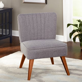 Simple Living Isabella Channel-back Fabric Chair