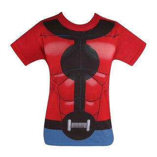 Men's Marvel Superhero Cotton Ant-man T-shirt