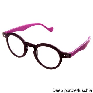 Hot Optix Unisex Round Reading Glasses (More options available)