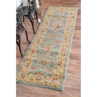 nuLOOM Traditional Ziegler Kashan Fancy Runner Rug (2'6 x 8')