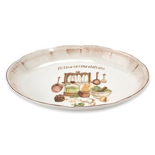 Italian Cucina 16-inch Oval Platter