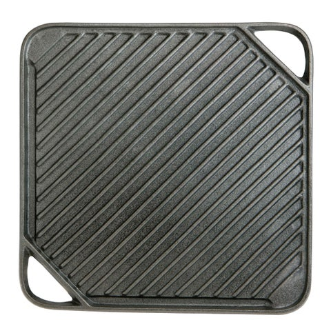Mr. Bar-B-Q Small Cast Iron Griddle