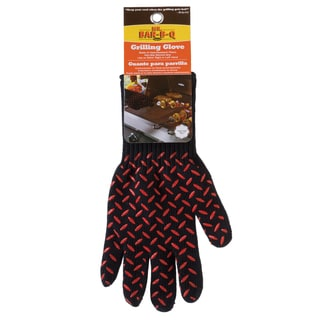 Mr. Bar-B-Q Black Grilling Glove
