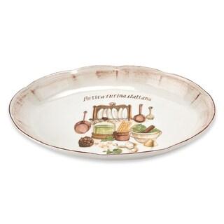 Italian Cucina 18-inch Oval Platter