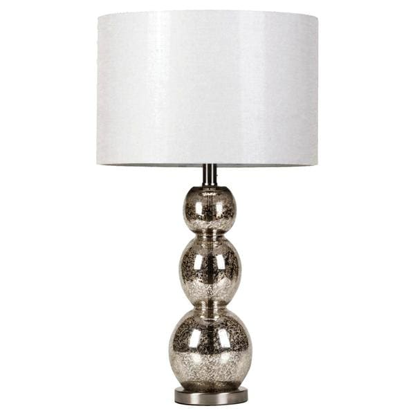 Hollis Sleek Modern Design Table Lamp with Drum Shade