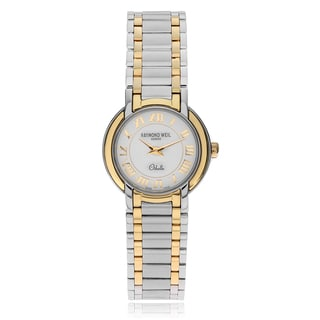 Raymond Weil Women's 'Othello' 2320-STG-00808 Two Tone Link Watch