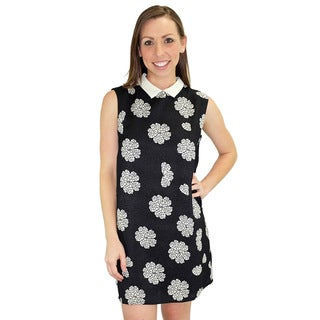Relished Women's Black Kiera Shift Dress