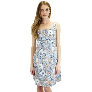 Relished Women's Josie Floral Sleeveless Dress https://ak1.ostkcdn.com/images/products/10299759/P17413373.jpg?impolicy=medium