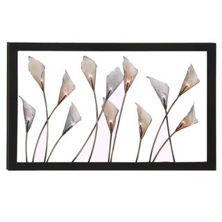 Bloom Large Hand-crafted LED Lights Metal Wall Art Decor