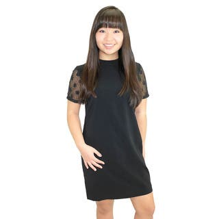 Relished Women's Charity Lace Sleeve Dress https://ak1.ostkcdn.com/images/products/10299838/P17413378.jpg?impolicy=medium