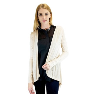 Relished Women's Dreamcatcher Beige Cardigan