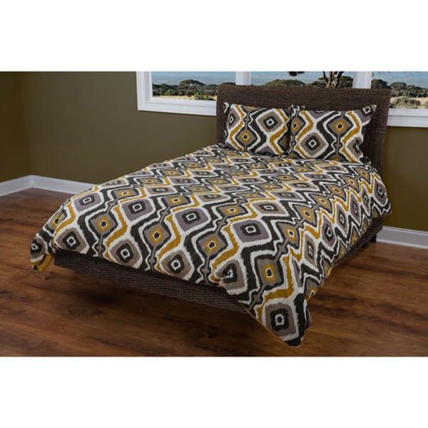 Rizzy Home Ikat Kinetics 3-piece Comforter Set