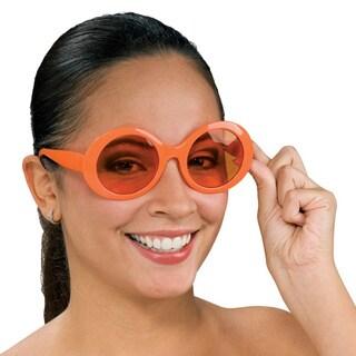 Round Retro Orange Sunglasses