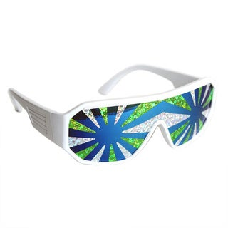 Macho Man Sea Spray Starburst Sunglasses
