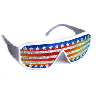 Macho Man American Flag Sunglasses. Opens flyout.
