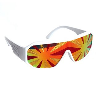 Macho Man Lava Starburst Sunglasses