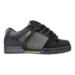 Men's DVS Celsius Grey/Black/Lime Nubuck