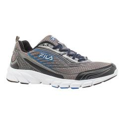 Men's Fila Fila Forward 2 Running Shoe Dark Silver/Black/Prince Blue