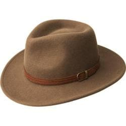 Bailey Western Barrens Felt Hat Pecan
