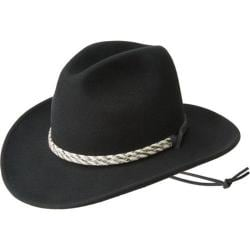 Bailey Western Flyway Felt Hat Black