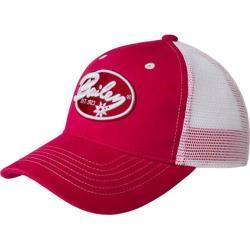 Bailey Western Mitchem Baseball Cap Crimson Red/White