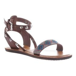 Women's Madeline Damp Sandal Whiskey Synthetic/Textile