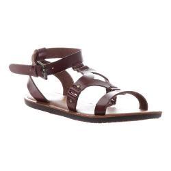 Women's Madeline Delani Gladiator Sandal Whiskey Synthetic