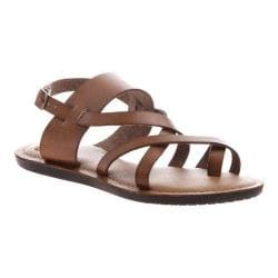 Women's Madeline Divania Gladiator Sandal Brown Sugar Synthetic