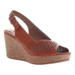 Women's Madeline Doting Wedge Slingback Sandal Orange Synthetic (More options available)