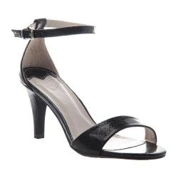 Women's Madeline Marly Ankle Strap Sandal Black Synthetic