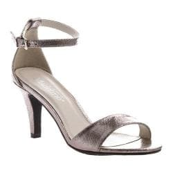 Women's Madeline Marly Ankle Strap Sandal Pewter Synthetic