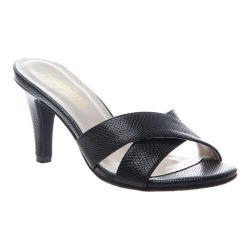 Women's Madeline Mere Slide Black Synthetic