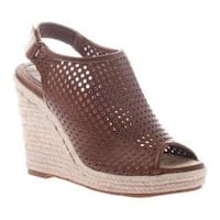 Women's Madeline Minimal Wedge Sandal Walnut Synthetic
