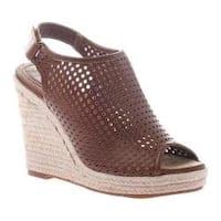 Women's Madeline Minimal Wedge Sandal Walnut Synthetic