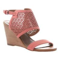 Women's Madeline Modern Wedge Sandal Coral Synthetic