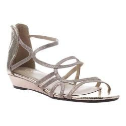 Women's Madeline Sizzle Strappy Sandal Pewter Synthetic