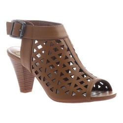 Women's Madeline Willowy Cut Out Sandal Bark Synthetic