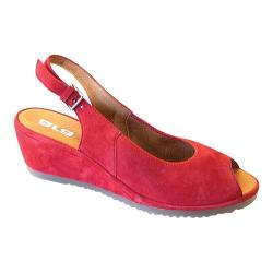 Women's ara Colleen 37120 Red Nubuck