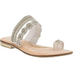 Women's Azura Finka Toe Loop Sandal White Multi Leather