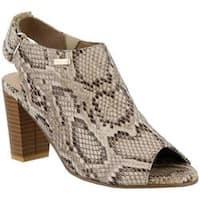 Women's Azura Limey Slingback Sandal Beige Synthetic
