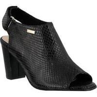 Women's Azura Limey Slingback Sandal Black Synthetic