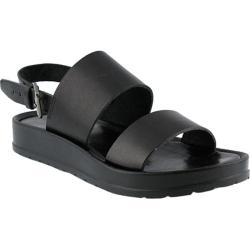 Women's Azura Loka Quarter Strap Sandal Black Leather