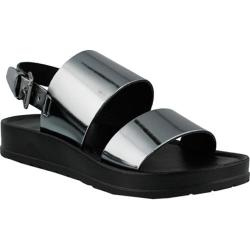 Women's Azura Loka Quarter Strap Sandal Pewter Synthetic