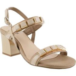 Women's Azura Pure Ankle Strap Sandal Beige Synthetic