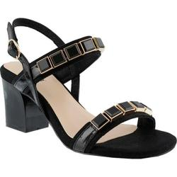Women's Azura Pure Ankle Strap Sandal Black Synthetic