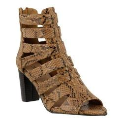 Women's Azura Quidam Gladiator Sandal Brown Synthetic