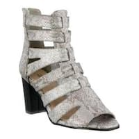 Women's Azura Quidam Gladiator Sandal Silver Synthetic